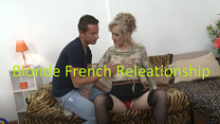 Blonde French Releationship Erotik Film izle
